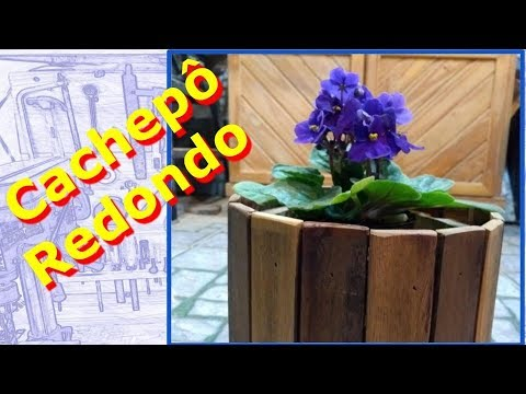 Cachepô Redondo