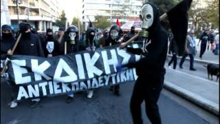Greece: Anarchist Greetings for 2015 [Jingle Bells Frank Sinatra version]