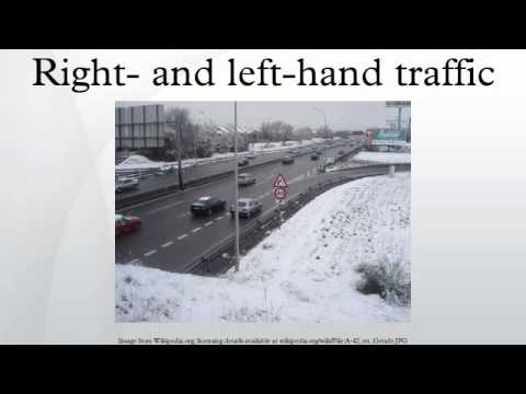 Right- and left-hand traffic
