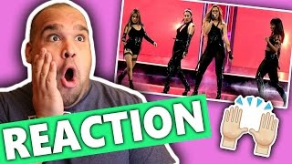Fifth Harmony - Work from Home (Live at the 2017 People's Choice Awards) REACTION