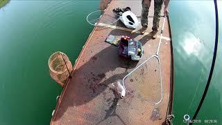 Зимния рыбалка в бисерово
