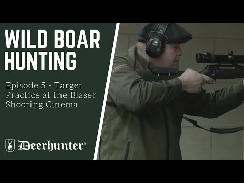 Target practice at the Blaser Shooting Cinema