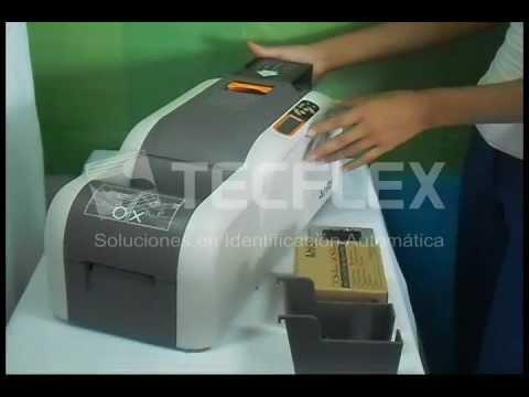 Impresora de fotochecks / PVC - Hiti CS200e - www.tecflex.com