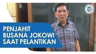 Inilah Sosok Penjahit Jas Jokowi yang Dipakai saat Pelantikan Presiden, Ada Detail Permintaan Khusus
