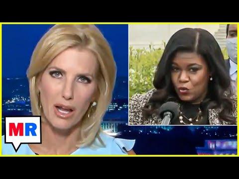 Laura Ingraham: Cori Bush Isn't Traditionally American Like Confederate Statues Are