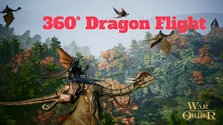 360° Dragon Castle Attack - War and Order