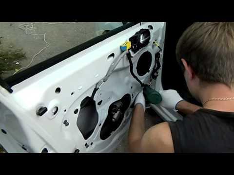 Шумоизоляция дверей Citroen C4
