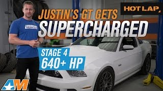 Justin's 2014 Mustang GT Build 640+ HP || Roush Supercharger, McLeod Clutch, Corsa Sport - HOT LAP