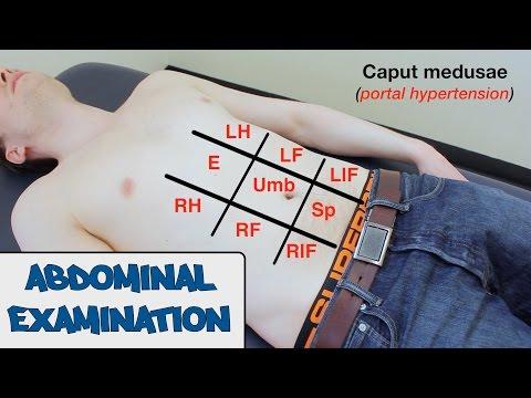Badanie brzucha
