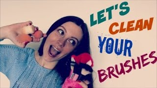 HOW TO CLEAN MAKEUP TOOLS | SPONGES AND BRUSHES | ANASTASIA