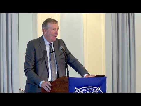 David Cunningham - The September Luncheon 2018