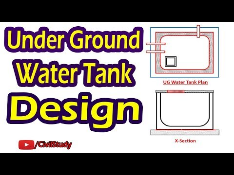 Quantity Survey: Underground water tank  - смотреть онлайн на Hah Life