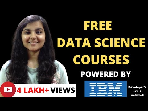 FREE Data Science Online Courses with FREE certificate - YouTube