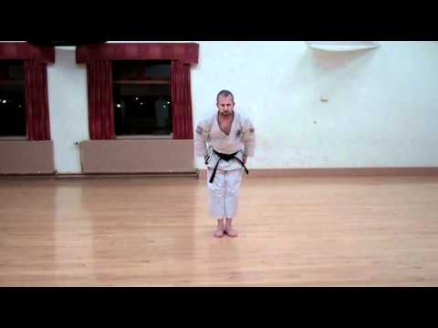 Wado Karate Pinan Nidan performed by Neil Pottinger.