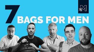 7 Best Mens Bags For 2019 // Aer, Carl Friedrik, Think Tank, Peak Design And MORE