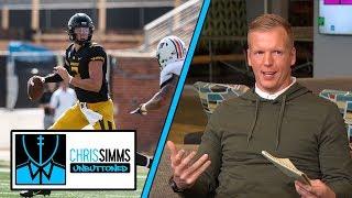 QB Drew Lock on 2019 NFL Draft, playing at Missouri | Chris Simms Unbuttoned | NBC Sports