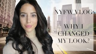 HOW I CHANGED MY LOOK! Behind The Scenes NYFW | Tamara Kalinic