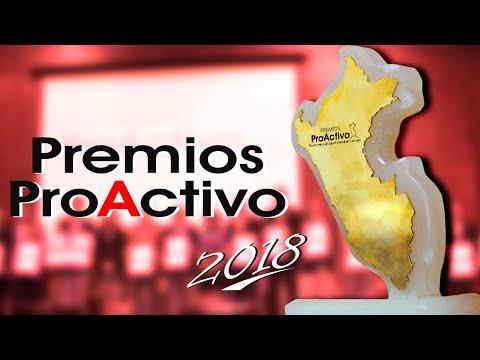 Resumen de Premios ProActivo 2018