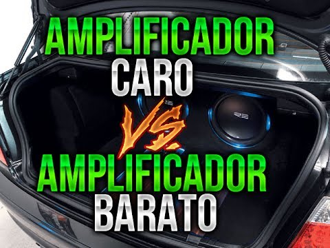 AMPLIFICADOR COSTOSO VS AMPLIFICADOR BARATO ( POTENCIA ) / CAR AUDIO
