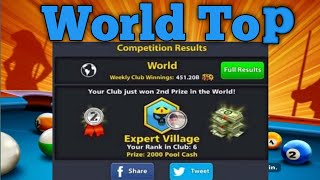 8 ball pool world top in club expert village __ and dangar shot