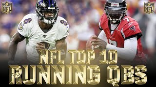 Top 10 best Running Quarterbacks in NFL History