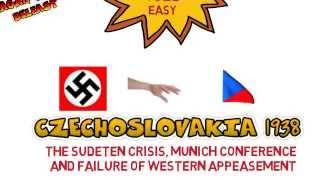 3) NAZI FOREIGN POLICY Czechoslovakia; Sudeten crisi and Munich 1938