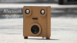How to make a simple Bluetooth Speaker at home