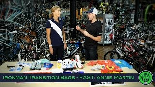 Triathlon Expert Tips: What to put in your Ironman Transition Bags
