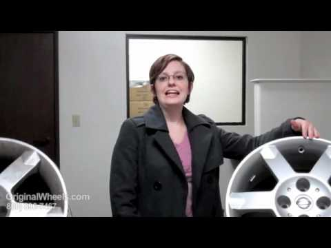 Frontier Rims & Frontier Wheels - Video of Nissan Factory, Original, OEM, stock new & used rim Co.