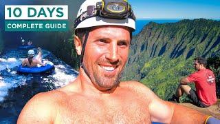 KAUAI TRAVEL GUIDE | Best Things to do in Kauai, Hawaii