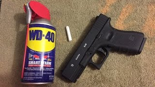 How to Color in your Trademarks on your Pistol! Using just a Crayon!