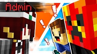 TWO YOUTUBERS vs ADMIN OF THE SERVER! (Minecraft Jungle Factions #1)
