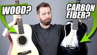 WOOD or CARBON FIBER? - Journey Guitar Tone Comparison!