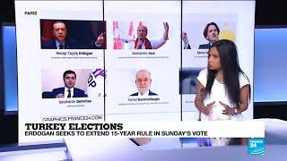 Turkey elections: who are president Recep Tayyip Erdogan