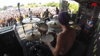 """Luke Holland The Word Alive """"Play the Victim"""" Live"""