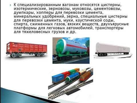 Организация перевозки грузов жд транспортом