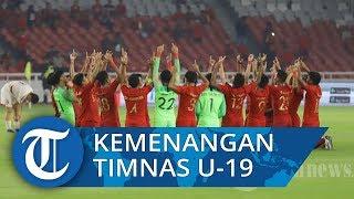 Menyanyikan Indonesia Raya di Kualifikasi Piala AFC U19 2020, Timnas U19 Indonesia Menanggis Terharu