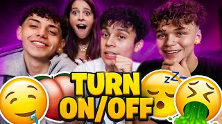 Tik tokers Turn Ons And Turn Offs Part 3 FT Diego Martir, Ashely newman and Julian Barboza