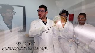 Lab Experiment #3: Types Of Chemical Reactions
