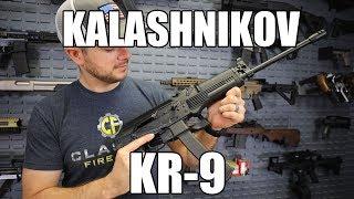 "Kalashnikov USA KR-9 Semi-Auto 16.25"" 30+1 Folding Black"