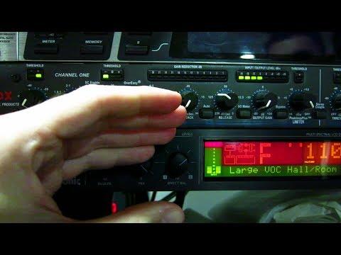 Mesa de mezclas - Envío a unidad de EFECTOS EXTERNOS (FX) a través de salidas AUXILIARES en POSFADER