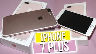 UNBOXING IPHONE 7 PLUS ♡
