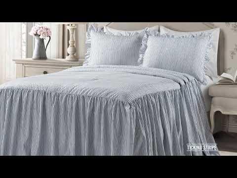 Ruffle Skirt Bedspread Set