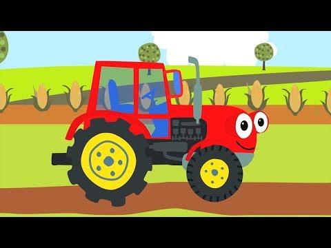 Песенки для детей - СБОРНИК про машинки: Бип-Бип , Трактор, Грузовик и другие песни для малышей