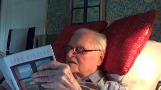 """John Ashbery reads """"Commotion of the Birds"""" in his Hudson Home, Saturday 17 June, 2017"""