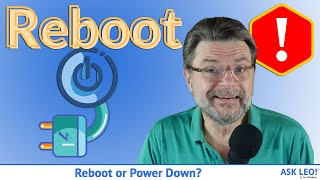 Reboot or Power Down: Why Do So Many Tech Support Solutions Start with That?