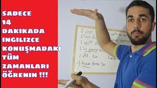 İngilizce Konuşmadaki TÜM ZAMANLAR l Hepsini 14 DK'da ÖĞREN!!