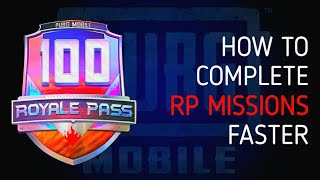 HOW TO COMPLETE ROYALE PASS MISSIONS FAST   HOW TO REACH 100 RP FAST   BLOODYHELL GAMING