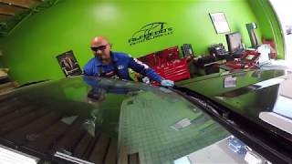 2019 Ford Ranger Safe windshield replacement by Alfredo's Auto Glass Repair in Corona California