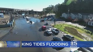 SKYDRONE: SkyDrone 5 captures the flooding down by the King Tides On Jan. 13
